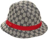 Gucci Gg Supreme Cotton Canvas Hat