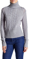 Lucy Paris Knit Combo Sweater