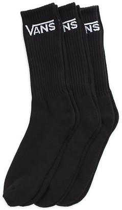 Vans Classic Crew Socks 3 Pair Pack