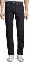 Bugatchi Five-Pocket Straight-Leg Jeans, Space