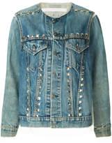 Miharayasuhiro studded denim jacket