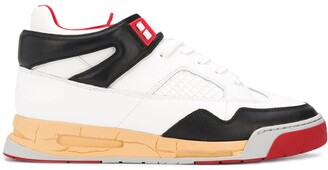 Maison Margiela Multi-Panel Lace Up Sneakers