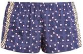 Cosabella JEANNE Pyjama bottoms navy blue/beach sand