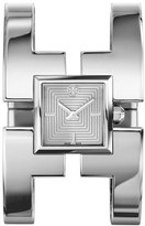 Tory Burch 'Sawyer' Square Bangle Watch, 20mm