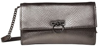 Rebecca Minkoff Jean Convertible Clutch (Black) Handbags