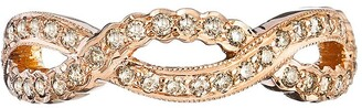 Couture Sethi Champagne Diamond Infinity Ring