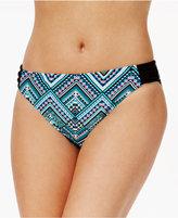 Go By Gossip Solar Geometric-Print Bikini Briefs