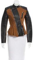 3.1 Phillip Lim Motorcycle Peplum Jacket w/ Tags