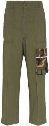 Rentrayage Panelled Cargo Trousers