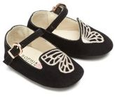 Sophia Webster Baby's Mini Bibi Butterfly Suede Flats