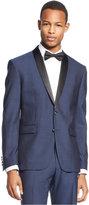 Bar III Slim-Fit Midnight Blue Shawl Collar Tuxedo Jacket