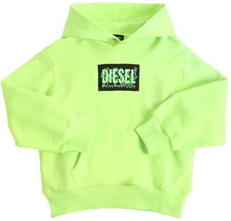 Diesel Cotton Sweatshirt Hoodie