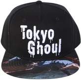 Bioworld Men's Licensed Tokyo Ghoul Sublimated Brim Snapback Hat O/S
