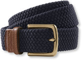 L.L. Bean Comfort Waist Braided Belt