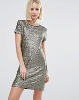 Pepe Jeans Angelica Sequin T-Shirt Dress