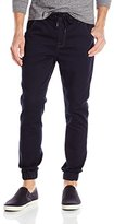 Kenneth Cole Reaction Men's Dark Indigo Knit Jogger