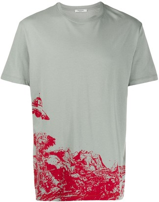 Valentino x Undercover Time Traveller print T-shirt