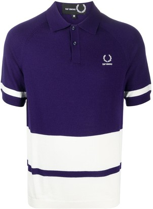 Fred Perry Panelled Polo Shirt