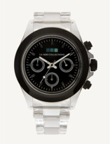 La Mer Black Bezel / Black Dial Carpe Diem Watch.