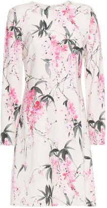 Goat Izzy Floral-print Jersey Mini Dress