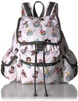 Le Sport Sac Women's Classic Medium Voyager Backpack