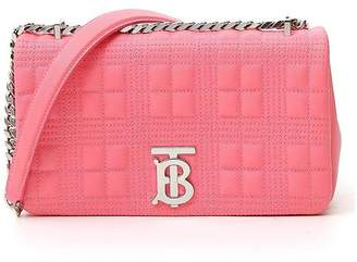 Burberry Monogram Quilted Crossbody Bag