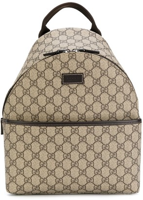 Gucci Kids Branded Backpack