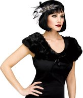 Fun World Costumes 1920's Stole Womens Flapper Plush Faux Fur Shoulder Cape Costume Accessory