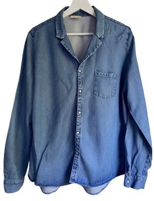 American Vintage Blue Denim - Jeans Leather jackets
