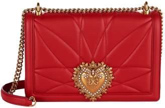 Dolce & Gabbana Large Quilted Devotion Shoulder Bag