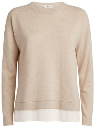 Peserico Contrasting-Trim Sweater