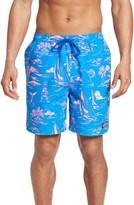 Vineyard Vines Men's Island Scenic Bungalow Swim Trunks