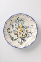 Anthropologie De Vincennes Dinner Plate, Octopus