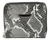 GUESS Women's Cali Python-Embossed Billfold Wallet