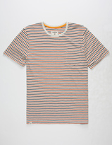 CAPTAIN FIN Samuel Mens Pocket Tee