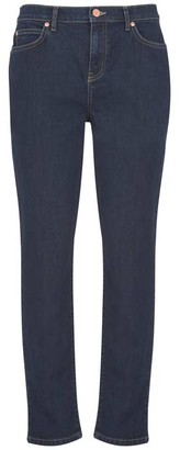 Mint Velvet Houston Dark Indigo Slim Jeans