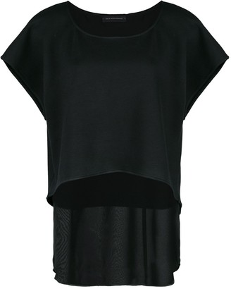 Kiki de Montparnasse Athleisure double-layer T-shirt