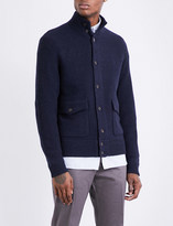 Polo Ralph Lauren Button-up wool and cashmere-blend jacket