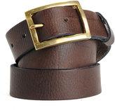 Rag and Bone Rugged Belt - Brown Leather
