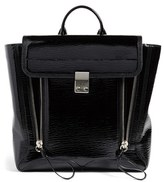 3.1 Phillip Lim Pashli Leather Backpack - Black