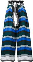 Fendi cropped wide-leg trousers - women - Cotton - 40