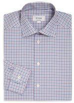 Eton Plaid Contemporary-Fit Dress Shirt