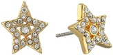 Marc Jacobs MJ Coin Tiny Star Pave Studs Earrings Earring