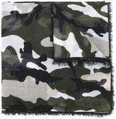 Valentino Garavani camouflage scarf