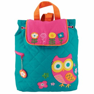 Stephen Joseph Teal Owl Quilted Backpack Multi One Size 1-Pack