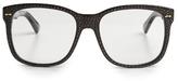 Gucci Embellished D-frame glasses