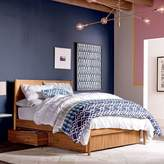 west elm Mid-Century Storage Bed - Acorn