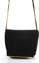 Donna Karan Black Gold Special Occasion Medium Sized Clutch Handbag