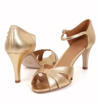 Emma.Go Emma Go - Astrid Gold Sandal - 37
