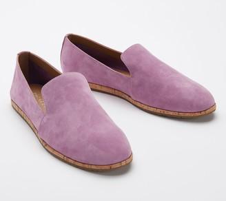 Aerosoles Leather Slip-On Shoes - Hempstead